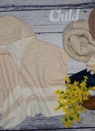 12 лет 146 - 152 см обалденно модная накидка болеро пончо летучая мышь зара zara