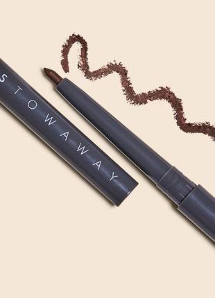 Гелевый карандаш- подводка для глаз stowaway effortless eyeliner in jet or spice