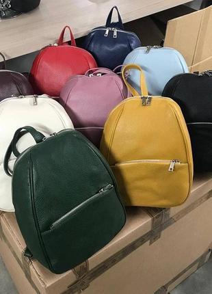 Рюкзак кожа италия2