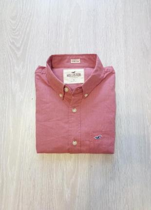 Стильная рубашка hollister.