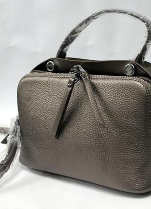 Женская сумка, кожа, натуральная кожа, кросс - боди, стильная сумка