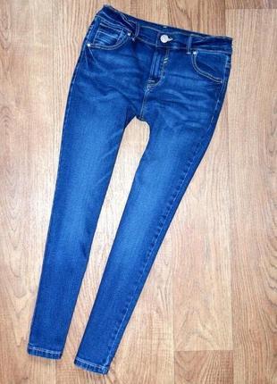 Стильные джинсики f&f на 8-9 лет 99% хлопок, 1% эластан