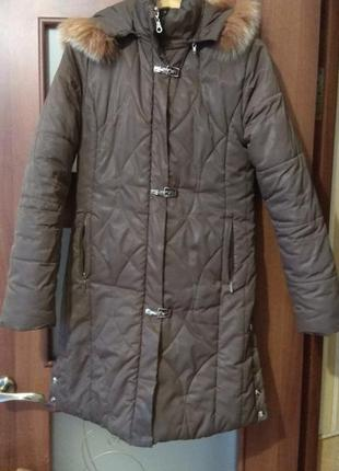 Куртка, пальто на синтепоне, размер m