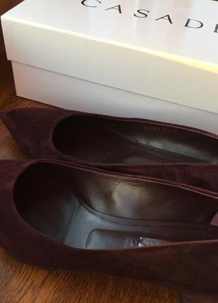 Шикарные туфли casadei 40 размер на 39 (маломерят)