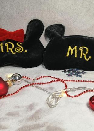 """Комплект масок для сна """"мистер и миссис маус"""""""