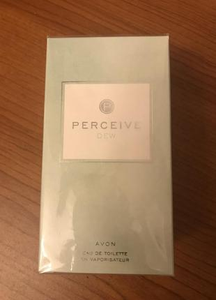 Парфюм perceive dew avon
