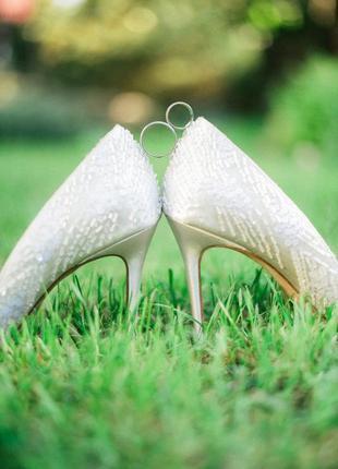Шикарные туфли на свадьбу или вечерние