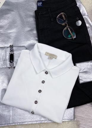 Burberry women's футболка белая