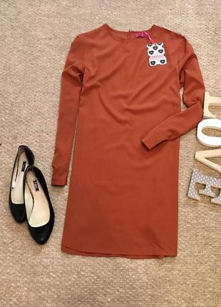 Красивое платье прямого кроя boohoo
