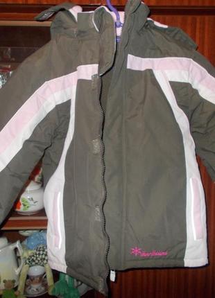 Качественная и тёплая детская куртка- пуховик  x-mail