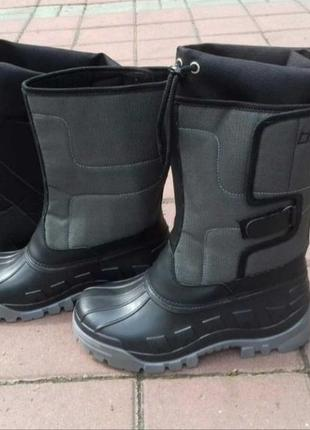 Мужские зимние сноубутсы сапоги ботинки дутики угги 39-46