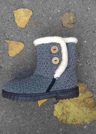 Женские зимние бурки дутики сапоги угги ботинки 37-42