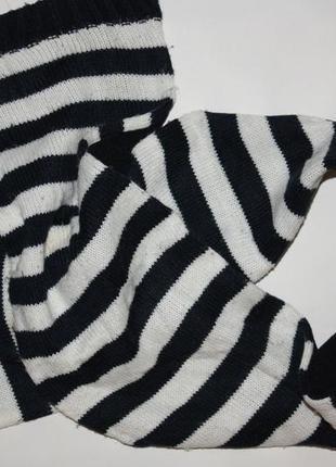 Полосатенький очаровашка шарфик для мальчика в отличном состоянии