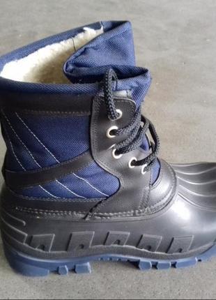 Мужские зимние ботинки сапоги угги сноубутсы дутики 39-46