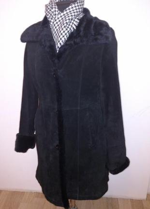 D'auvry пальто замшевое италия