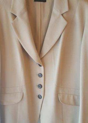 Роскошный шерстяной пиджак marcona