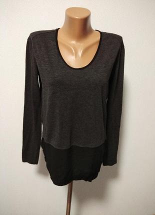 Джемпер блуза два в одном zara / горячая цена/ скидки!