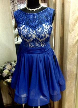Вечернее (выпускное) платье ,пошив в стиле sherri hill