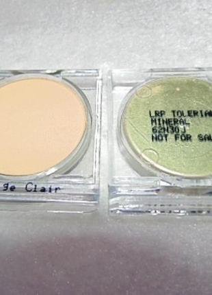 Тестеры корректирующая компактная пудра toleriane teint