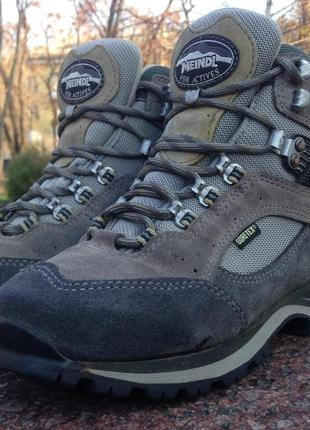 Зимние треккинговые ботинки meindl vakuum lady 3.0 gtx р.38 lowa