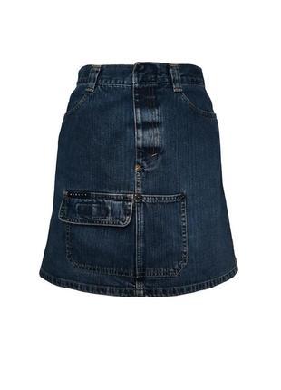 Джинсовая юбка sisley, размер xs-s