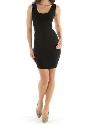 Чёрное платье mango collection