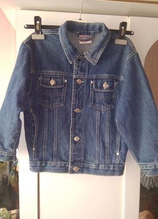 Джинсовый пиджак youngster 8 - 9 лет