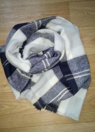 Тёплый обьемный шарф atmosphere