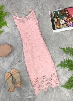 Нежное кружевное платье с нюансом  dr1902030 qius