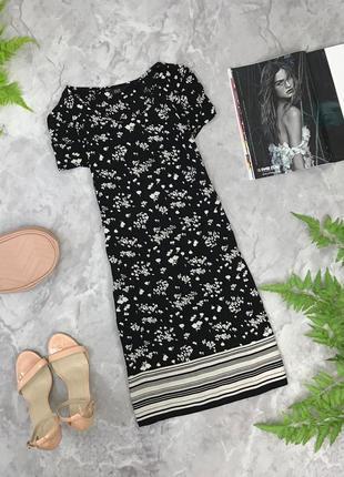 Женственное платье в мелкий принт  dr1902027 f&f