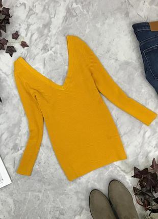 Стильный свитер с v-образным вырезом  sh1902013 miss selfridge