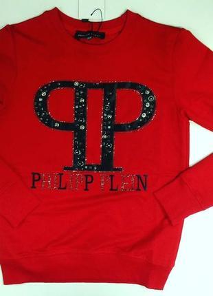 Красный реглан pp