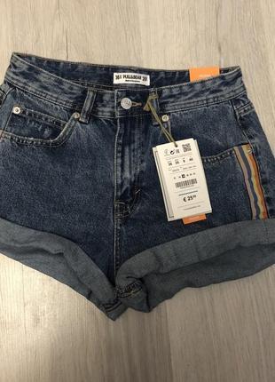 Джинсовые шорты pull&bear 🌿