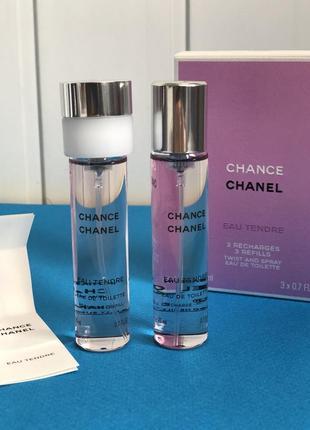 Chanel chance eau tendre сменный блок