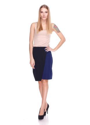 Шикарная итальянская юбка yamamay в офис офисная размер m lycra новая