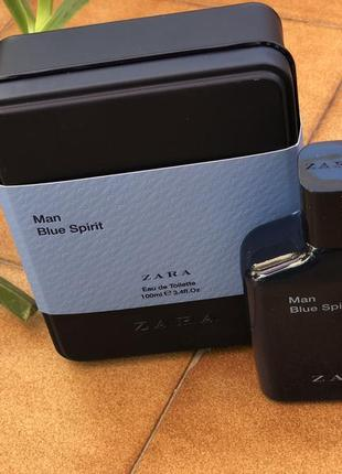 Духи zara man blue spirit/парфюм /туалетная вода/туалетна вода