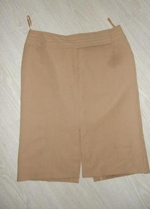 Продам бежевую юбку новую