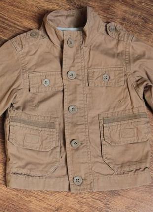 Классная куртка для маленького модника 12-18м