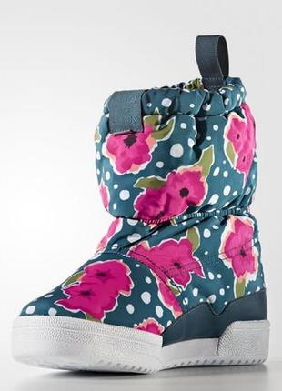 Сапоги  adidas slip on boot j s76118 размер33,35-37