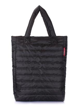 Сумка-пакет-мешок стеганная женская,удобная,классическая