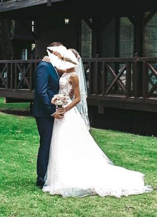 Продам идеальное свадебное платье3 фото