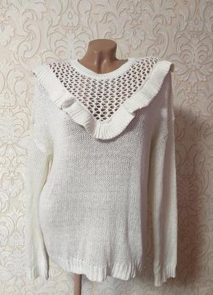 Акция невероятный хлопковый свитер uk 16 наш 50
