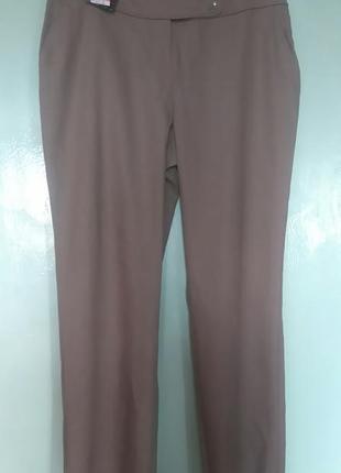 Укороченные брюки из льна
