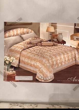 Набор постельного белья покрывало подушки италия