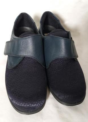 Уникальные туфли на широкую ногу easy comfort размер 38