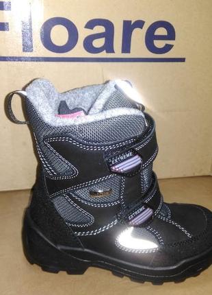 Зимние мембранные сапожки 28,33,34 р kapika на мальчика, шерсть. сапоги, капика, ботинки