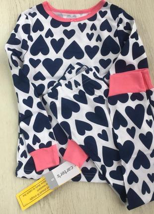 Пижама carters 4-5лет