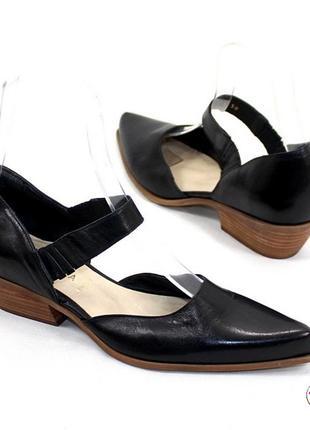 Туфли san marina натуральная кожа 39 р оригинал