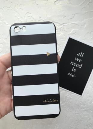 Чехол силикон на iphone 5 5s se