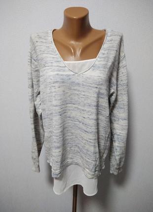 Джемпер блуза 2 в 1 / горячая цена / скидки !